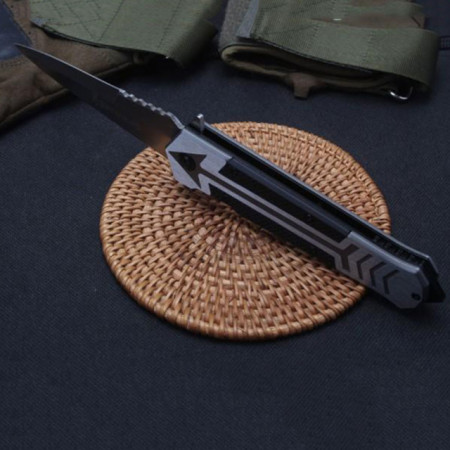 Cutit briceag Browning 22,5 cm, model Black Arrow, lama stilet cu varf ascutit