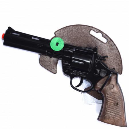 pistol metalic Magnum 26 cm cu 12 capse