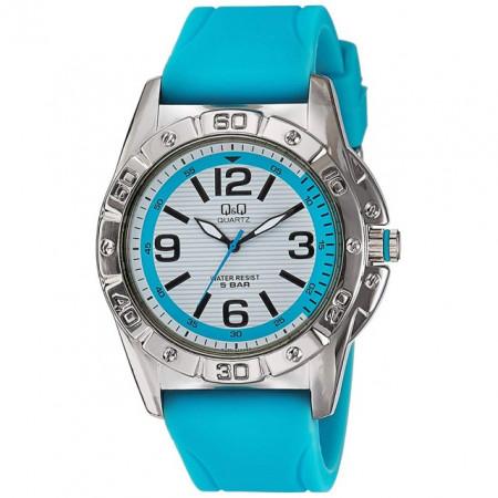 Ceas de mana sport Q&Q Q790-314Y, albastru