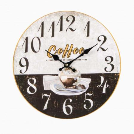 ceas de perete cu cafea