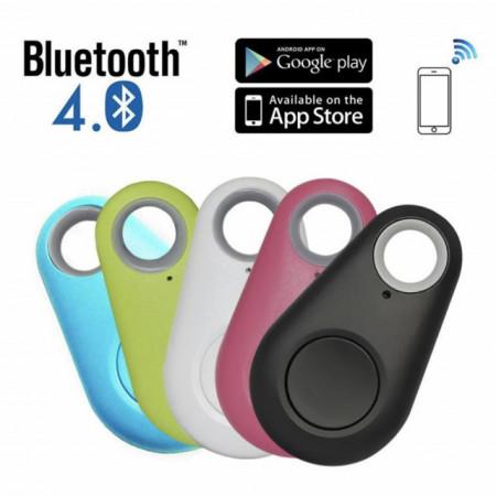 Breloc inteligent iTag localizare si anti-pierdere chei prin bluetooth, compatibil cu Android 4.4 si iOS 6.0 sau versiuni mai recente, alb