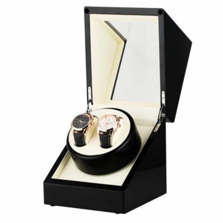 cutie caseta pentru 2 ceasuri