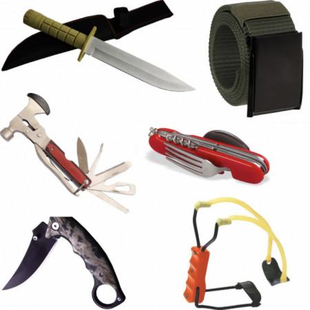 set kit 6 accesorii pentru camping si drumetii