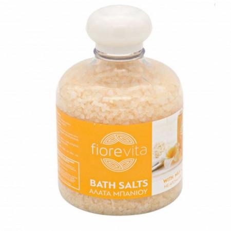 sare de baie cu miros de miere si lapte