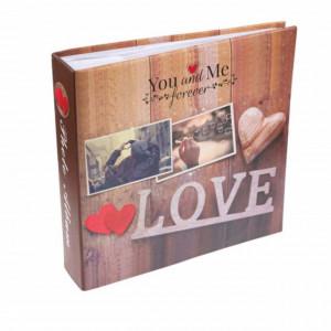 Album foto Forever love, 22 x 22,5 cm, 200 poze, Pufo
