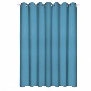 Draperie Pufo Simply Blue, 140 x 250 cm, albastra