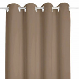 Draperie Simply Brown, 140 x 250 cm, Pufo, maro