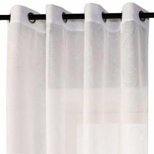 Perdea eleganta Pufo White, 140 x 260 cm, alb