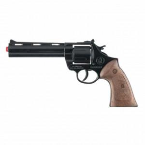 Pistol metalic Magnum 26 cm de 12 capse, Pufo