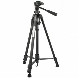 Trepied foto telescopic Weifeng WT-3520 universal 54 -140 cm, negru, husa transport inclusa