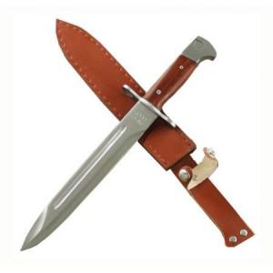 Cutit baioneta inscriptionat AK-47 CCCP 34,5 cm + teaca