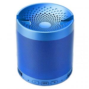 Boxa portabila Bluetooth Wireless, USB, TF Card, port auxiliar si suport pentru telefonul mobil, albastru