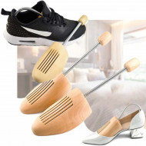 Calapod din lemn pentru pantofi, unisex, set 2 bucati, marime ajustabila 38-44