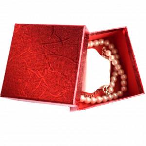 colier dama perle cu cutie cadou