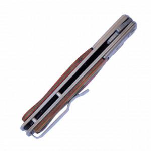 Cutit briceag de buzunar 22.5 cm, model Cuba Elite cu lama stilet si sistem blocare lama