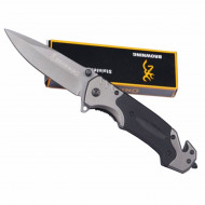 Cutit briceag tactic Browning 22,5 cm, model Navy Seals - Black Edition cu sistem de blocare lama