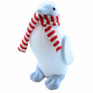 Figurina decorativa PinguPufo in forma de pinguin, 27 cm