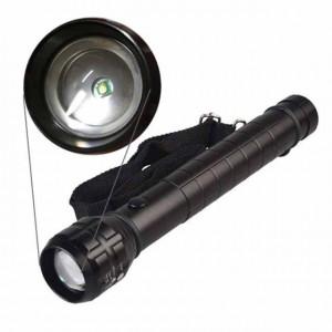 Lanterna metalica cu busola si centura Pufo pentru activitati in aer liber, pescuit, camping