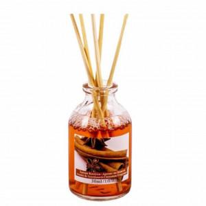 Mini odorizant parfumat cu ulei de scortisoara si betisoare, pentru camera, living, dormitor, etc, 30 ml, Pufo