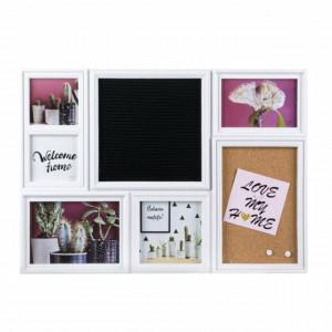 Panou foto decorativ Pufo pentru fotografii, 5 locuri, 53 x 37 cm