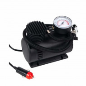 Pompa electrica Pufo cu monometru pentru umflarea anvelopelor, baloanelor, etc, 12V