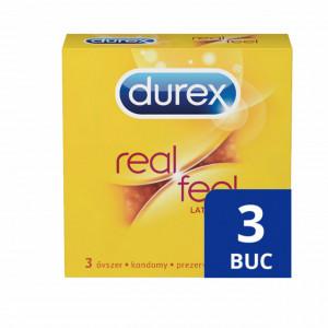 Prezervative Durex Real Feel, 3 buc