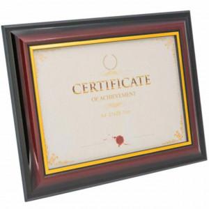 Rama foto tablou pentru diploma, acte, fotografie, certificat, A4, Pufo, 38,5 x 30 cm