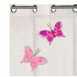 fluturasi decorativi roz