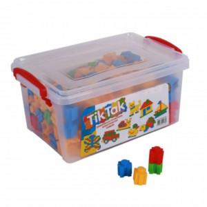 Set piese de construit pentru copii, 230 piese, Pufo