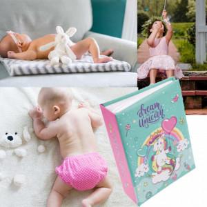 Album foto pentru copii, model Unicorn , 13 x 17cm, Pufo