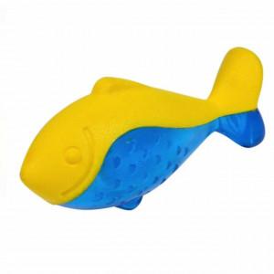 Jucarie distractiva Pufo Fish pentru catei in forma de peste, 20 cm