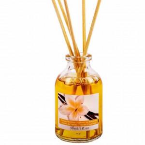 Mini odorizant parfumat cu ulei de vanilie si betisoare, pentru camera, living, dormitor, etc, 30 ml, Pufo