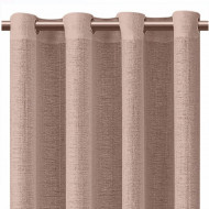 Perdea eleganta Pufo Classy, 140 x 250 cm, maro