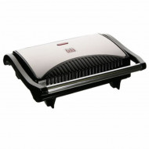 Sandwich-maker Grill & Toast DIGI 0.1 700 W, placi antiaderante grill, negru cu argintiu