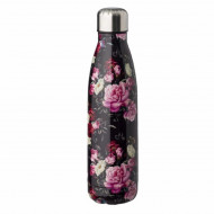 Sticla termos metalica Pufo Floral pentru bauturi, izoterm, 500 ml