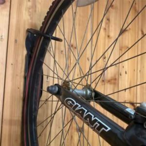 Suport metalic fixare bicicleta, maxim 20 kg, prindere perete, accesorii incluse, Pufo