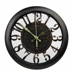 Ceas de perete rotund, model Pufo Elegance, 28 cm