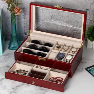 cutie caseta din lemn model elegant