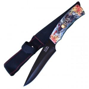 Cutit de vanatoare Full Tang 28 cm, model Dead Walker, teaca inclusa