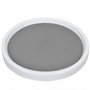 Organizator rotativ tip tava Pufo pentru frigider sau dulap cu suprafata antialunecare, 25 cm