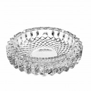 Scrumiera Pufo Elegance din sticla, 12 cm, rotunda
