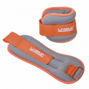 Set fitness cu 2 greutati incheietura maini sau picioare, Pufo, 0,5 kg