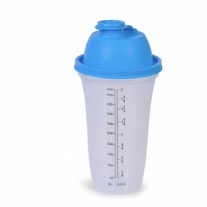 Shaker gradat Pufo pentru bauturi, 500 ml, transparent