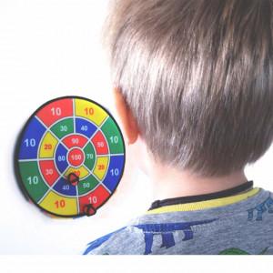 Tabla joc darts magnetic cu arici pentru copii si adulti, bile velcro incluse