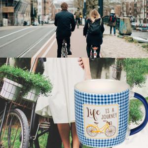 Cana pentru cafea Life is a journey, 345 ml