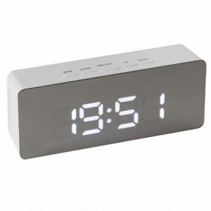 Ceas digital de camera cu LED, alarma si statie meteo