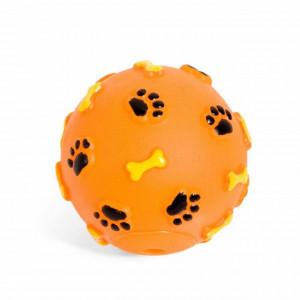 Jucarie minge Pufo pentru catei, model cu labute
