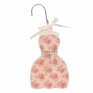Odorizant mirositor Pufo Dress pentru haine, masina, camera, cu miros de vanilie, 18 cm