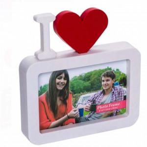 Rama foto decorativa Pufo Love You, 17 x 18 cm