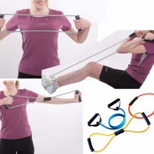 Set corzi pentru antrenament fitness Pufo, 3 piese